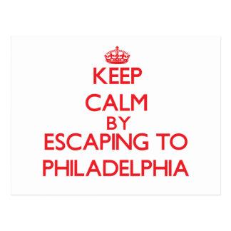Guarde la calma escapándose a Philadelphia New Jer Postal