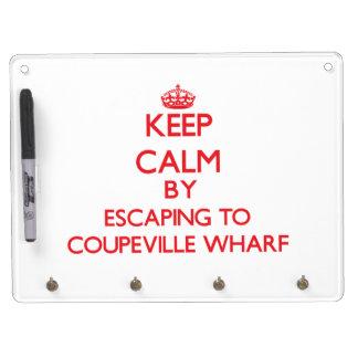 Guarde la calma escapándose al muelle Washingt de  Pizarras Blancas