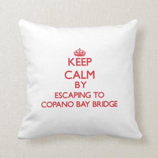 Guarde la calma escapándose al puente Tejas de la  Almohadas
