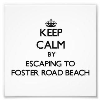 Guarde la calma escapándose para fomentar la playa foto