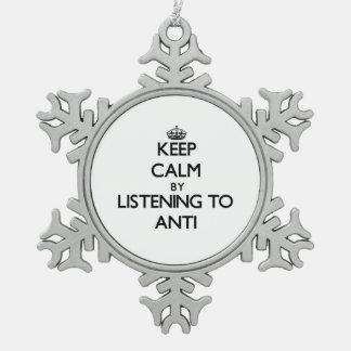 Guarde la calma escuchando ANTI Adornos