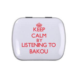 Guarde la calma escuchando BAKOU