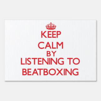 Guarde la calma escuchando BEATBOXING