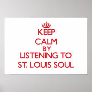 Guarde la calma escuchando el ALMA de ST. LOUIS Impresiones