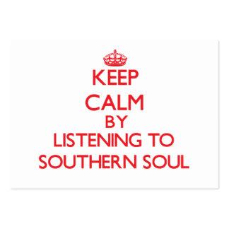 Guarde la calma escuchando el ALMA MERIDIONAL