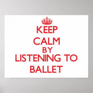 Guarde la calma escuchando el BALLET Impresiones