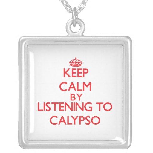 Guarde la calma escuchando el CALYPSO Colgante