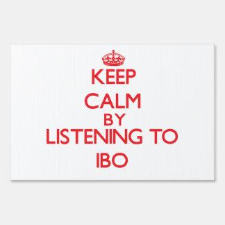 Guarde la calma escuchando el IBO