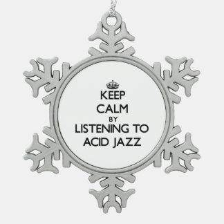 Guarde la calma escuchando el JAZZ ÁCIDO Adorno