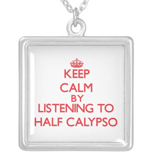 Guarde la calma escuchando el MEDIO CALYPSO Joyerias