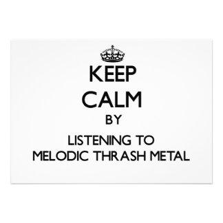 Guarde la calma escuchando el METAL MELÓDICO del M Anuncios Personalizados
