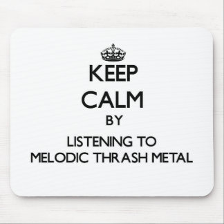 Guarde la calma escuchando el METAL MELÓDICO del M Tapete De Ratones