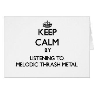 Guarde la calma escuchando el METAL MELÓDICO del M Felicitación