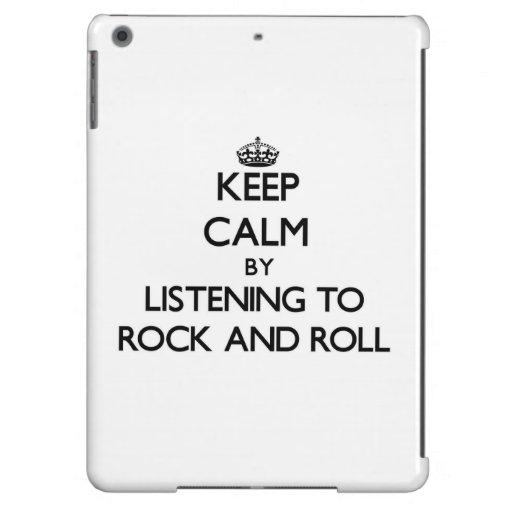 Guarde la calma escuchando el ROCK-AND-ROLL