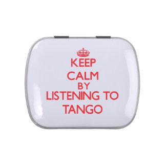 Guarde la calma escuchando el TANGO