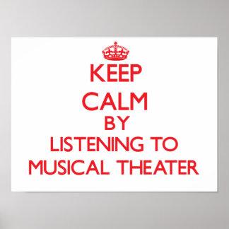 Guarde la calma escuchando el TEATRO MUSICAL Impresiones