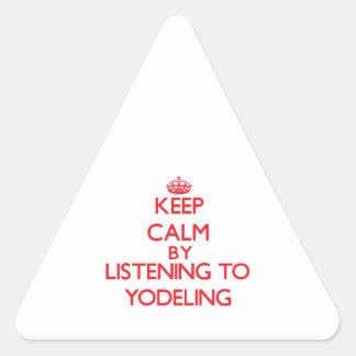 Guarde la calma escuchando el YODELING