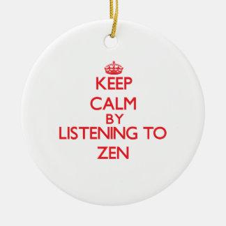 Guarde la calma escuchando el ZEN Ornato