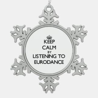 Guarde la calma escuchando EURODANCE Adorno