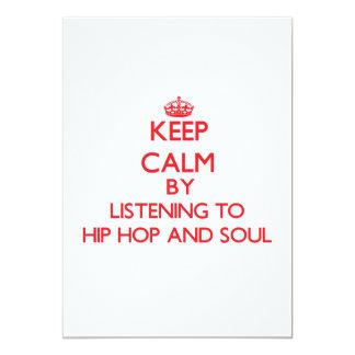 Guarde la calma escuchando HIP HOP Y EL ALMA Comunicados Personalizados