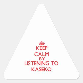 Guarde la calma escuchando KASEKO