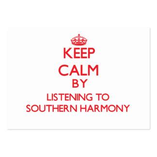 Guarde la calma escuchando la ARMONÍA MERIDIONAL