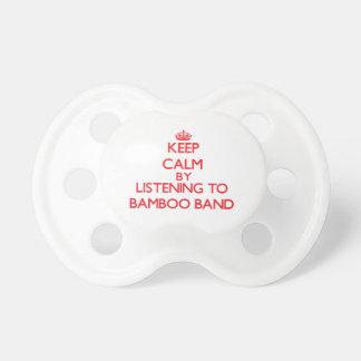 Guarde la calma escuchando la BANDA DE BAMBÚ