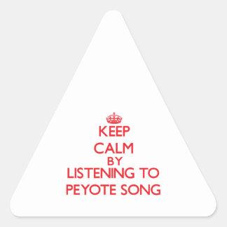 Guarde la calma escuchando la CANCIÓN del PEYOTE