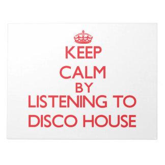 Guarde la calma escuchando la CASA del DISCO