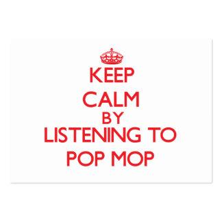 Guarde la calma escuchando la FREGONA del POP