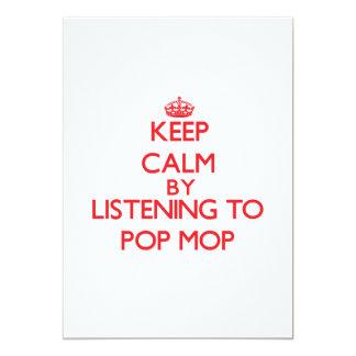 Guarde la calma escuchando la FREGONA del POP Comunicados Personalizados