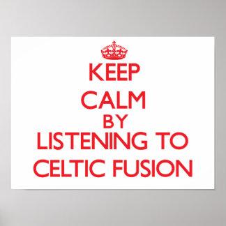 Guarde la calma escuchando la FUSIÓN CÉLTICA Impresiones