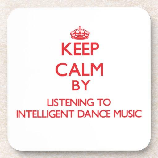 Guarde la calma escuchando la MÚSICA de DANZA INTE Posavasos