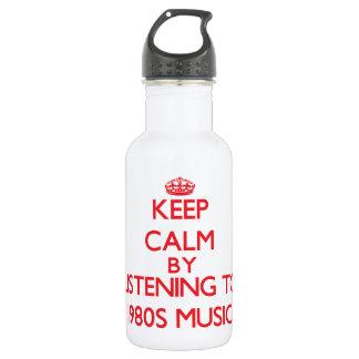 Guarde la calma escuchando la MÚSICA de los años