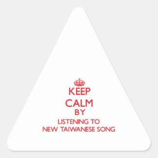 Guarde la calma escuchando la NUEVA CANCIÓN TAIWAN
