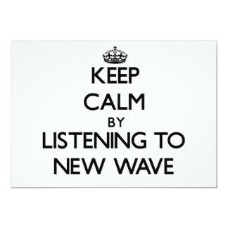 Guarde la calma escuchando la NUEVA OLA Comunicado Personal