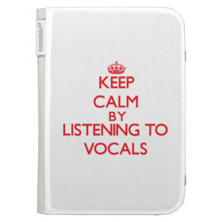 Guarde la calma escuchando la PIEZA VOCAL
