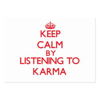 Guarde la calma escuchando las KARMAS