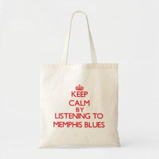 Guarde la calma escuchando los AZULES de MEMPHIS Bolsa
