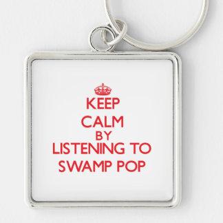 Guarde la calma escuchando PARA HUNDIR EL POP Llaveros
