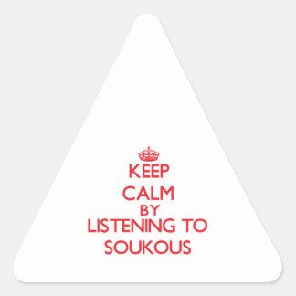 Guarde la calma escuchando SOUKOUS