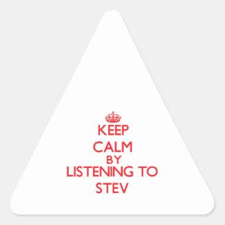 Guarde la calma escuchando STEV