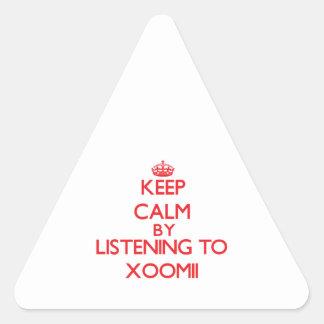 Guarde la calma escuchando XOOMII