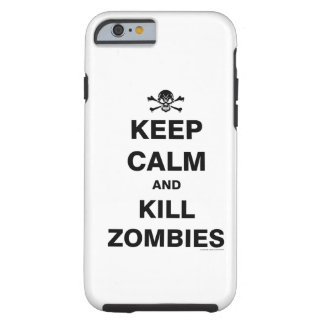 Guarde la calma funda de iPhone 6 tough