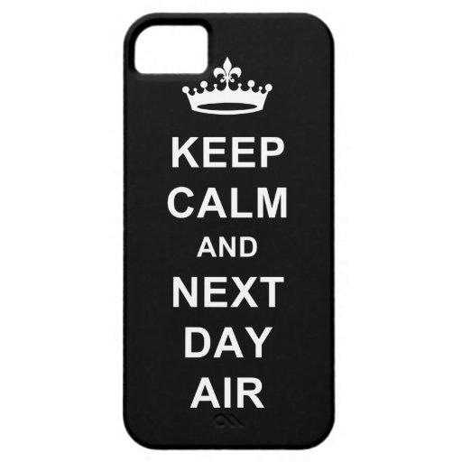 Guarde la calma iPhone 5 cárcasas