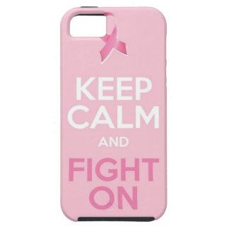 Guarde la calma iPhone 5 carcasas