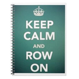 Guarde la calma notebook