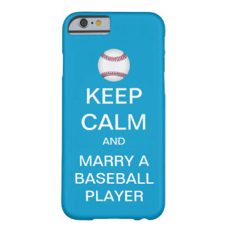 GUARDE LA CALMA para casar una caja del iPhone 6 Funda De iPhone 6 Barely There