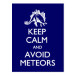 Guarde la calma para evitar la postal de los meteo
