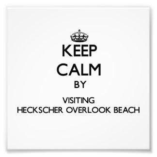 Guarde la calma por Heckscher que visita para pasa